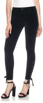 Joe's Jeans Women's Icon Lace-Up Ankle Skinny Velvet Pants