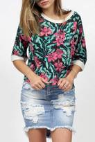 MinkPink Sundown Jungle Top
