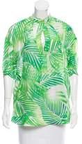 Diane von Furstenberg Greenpoint Printed Tunic
