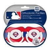 Baby Fanatic Philadelphia Phillies Pacifiers Safe BPA Free