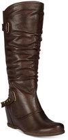Bare Traps Quivina Hidden-Wedge Boots