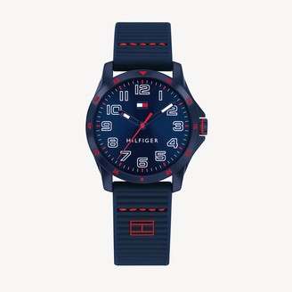 Tommy Hilfiger TH Kids Blue Watch With Silicone Strap