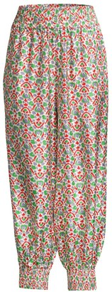 Tory Burch Printed Pajama Pants