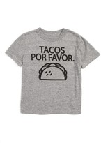 Chaser Toddler Boy's Tacos Please T-Shirt