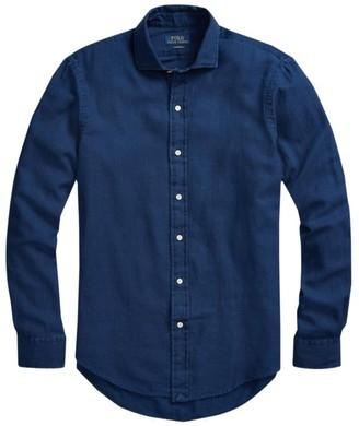 Polo Ralph Lauren Textured Long-Sleeve Button-Front Shirt