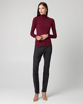 Le Château Viscose Blend Mock Neck Sweater