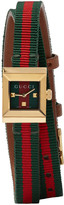 Gucci Red & Green G-Frame Watch