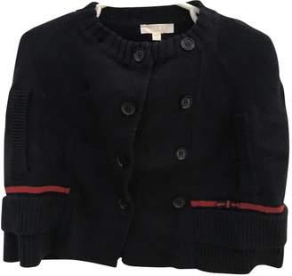 Gucci Navy Wool Knitwear