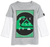 Quiksilver 'Still Here' Graphic T-Shirt (Baby Boys)