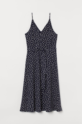 H&M Creped Dress - Blue