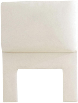 OKA Headboard Slip Cover, Single - White