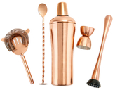 Old Dutch DuraCopper Cocktail Shaker Set (5 PC)