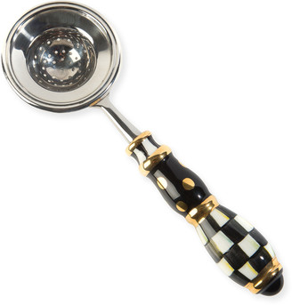 Mackenzie Childs Courtly Check Tea Strainer
