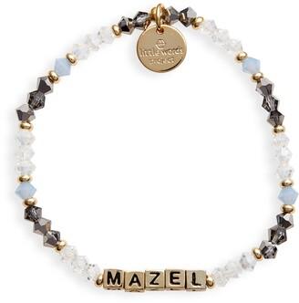 Little Words Project Mazel Beaded Stretch Bracelet