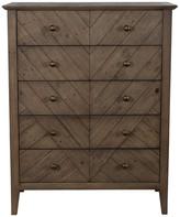 Kosas Bowen Reclaimed Pine 5 Drawer Dresser by Home