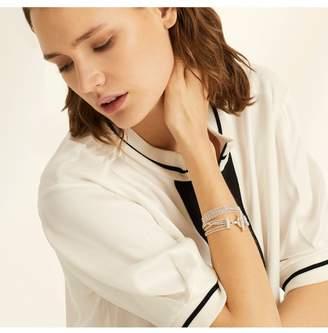 Amanda Wakeley Silver Multi Chain Bracelet