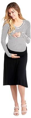 Nom Maternity Nola Maternity Skirt (Black) Women's Skirt
