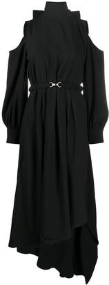 Rokh Cut-Out Detail Dress