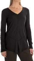 XCVI Tabitha Jersey and Georgette Shirt - Long Sleeve (For Women)