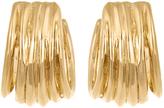 Aurelie Bidermann Ariane gold-plated earrings