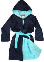 Rappco Waterproof Hooded Toweling Robe 3-9 Yrs