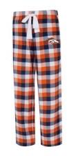 Concepts Sport Denver Broncos Women's Breakout Plaid Pajama Pants