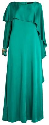 Marina Rinaldi Cape-Back Gown