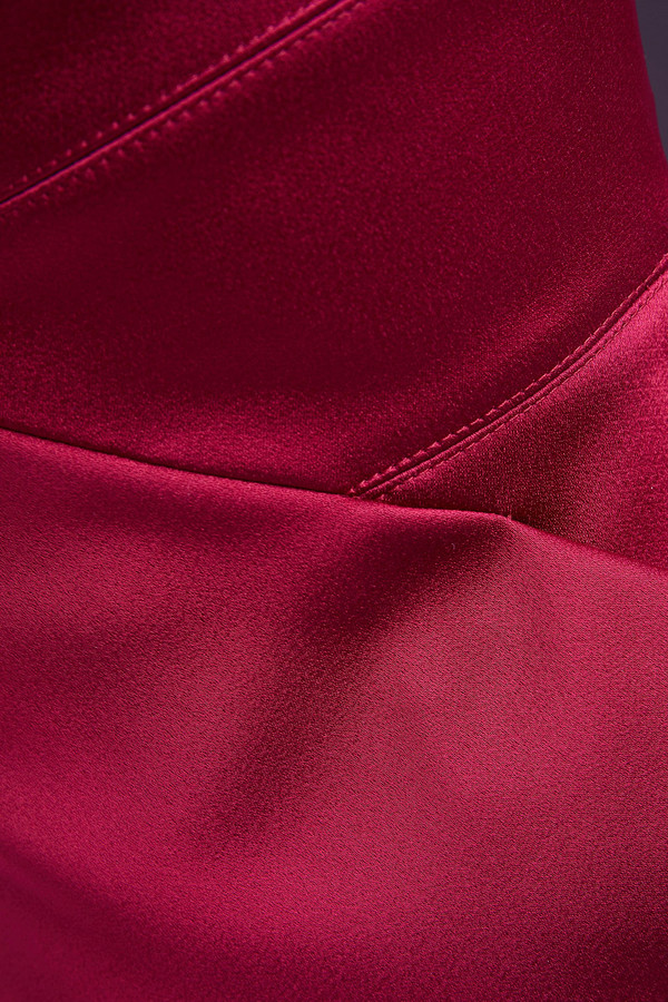 Thumbnail for your product : Roland Mouret One-shoulder Pleated Satin Dress