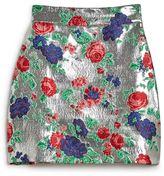 MSGM Lurex Roses Skirt