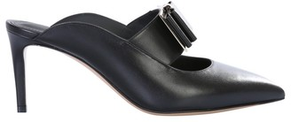 Salvatore Ferragamo Double Bow Mules