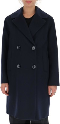 Max Mara Double Breasted Peacoat