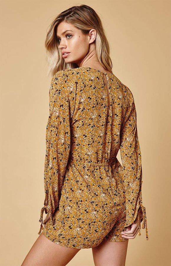 Lucca Couture Rosanna Drawstring Waist Romper