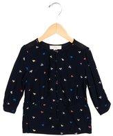 Stella McCartney Girls' Printed Button-Up Top