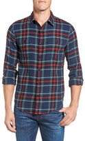 Bonobos Men's Fieldhouse Slim Fit Plaid Flannel Sport Shirt