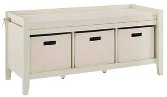Linon Home Décor Products Mimi Cream Entryway Bench