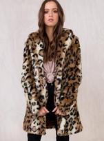 MinkPink Leopard Midline Jacket