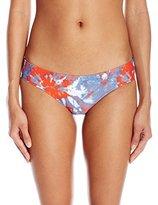Volcom Women's Liberty Cheeky Bikini Bottom