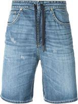 Dondup drawstring denim shorts