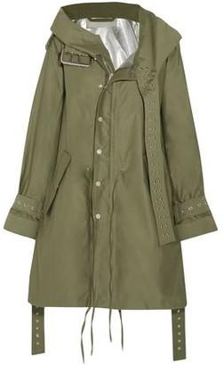 Monse Eyelet-embellished Cotton-twill Jacket