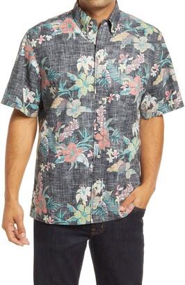 Reyn Spooner Upolu Sunset Short Sleeve Button-Down Shirt
