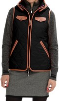 Neve Jett Quilted Hooded Vest (For Women)