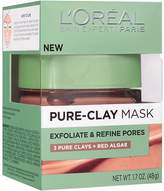 L'Oreal Pure-Clay Mask, Exfoliate & Refine Pores