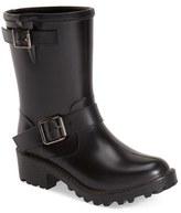 dav Women's Waterproof Moto Boot