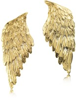 Forzieri Bernard Delettrez Bronze Wings Earrings
