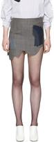 Toga Grey Check Miniskirt