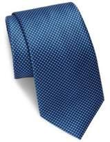Brioni Mini Checked Silk Tie