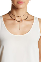 Stephan & Co Layered Chain Pendant Choker