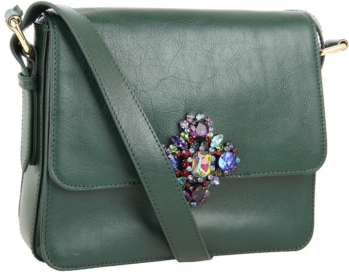 Juicy Couture Lana Luxe Rocks (Hunter Green) - Bags and Luggage