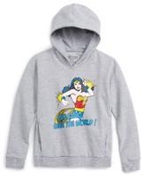 Little Eleven Paris Toddler Girl's Wonder Woman Hoodie