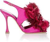 Manolo Blahnik Women's Flore Satin Sandals